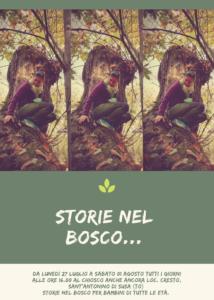 Store nel Bosco...per bambini di tutte le età